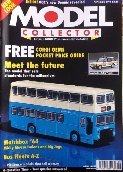 ORIGINAL MODEL COLLECTOR MAGAZINE September 1999
